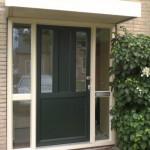 voordeur zelfbouw (2x glas-2xpaneel)- verdiept profiel