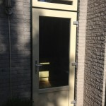 Achterdeur - verdiept wit-6009,1005
