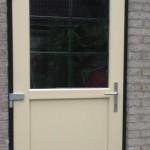 Achterdeurkozijn verdiept profiel kunststof - 6009-1005